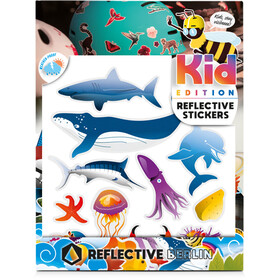 REFLECTIVE BERLIN K.I.D. Reflective Sticker maritim